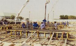 مشروع تصريف مياه السيول بالحرس الوطني